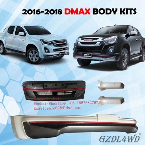 New Arriva Body Kits For Isuzu Dmax 2016-2018 !!!
