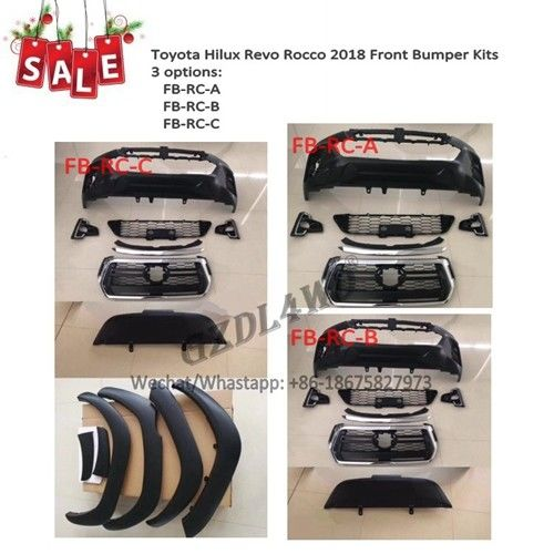china latest news about Christmas Sale Toyota Hilux Revo Rocco 2018 Body Kits