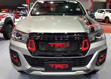 China Hilux 2018 Grille TRD Style Front Grill Guard With Fog Lights Cover For Toyota Rocco supplier