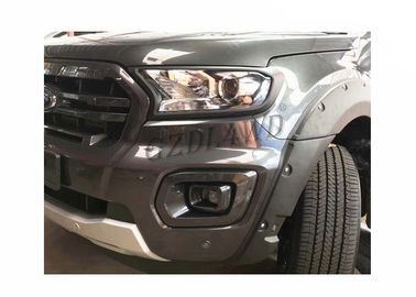 China Ford Ranger Wildtrack Wheel Arch Fender Flare Smooth / Textured Black supplier