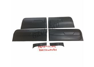Modified Raptor Style Side Door Molding Trims For Ford Ranger T7 Wildtrak 2015 Onwards supplier