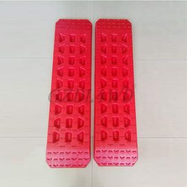 5T Offload Pickup Accessories Red Reinforced Nylon Pa66 Recovery Board Sand Track Sand Ladder supplier
