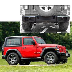 Steel 4x4 Offload Car Parts Jeep Wrangler Jl 2018+ Rear Bumper Guard supplier