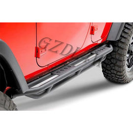 Durable 4x4 Body Kits , 2019 Wrangler JL 4 Doors Matted Dropped Side Step Bar Running Boards supplier
