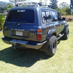 DL4WD Pocket Fender Flares 80 Series Land Cruiser Wheel Flares Wholesale