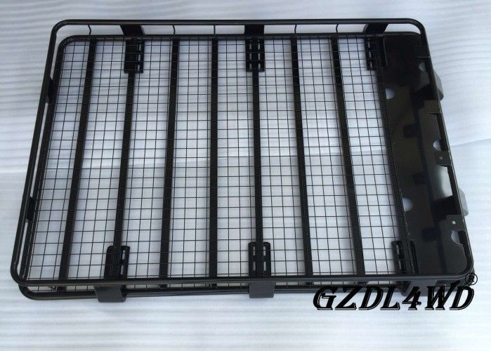 China Heavy Duty 4runner Roof Rack System , Steel Powder Coating Car Top Carrier factory