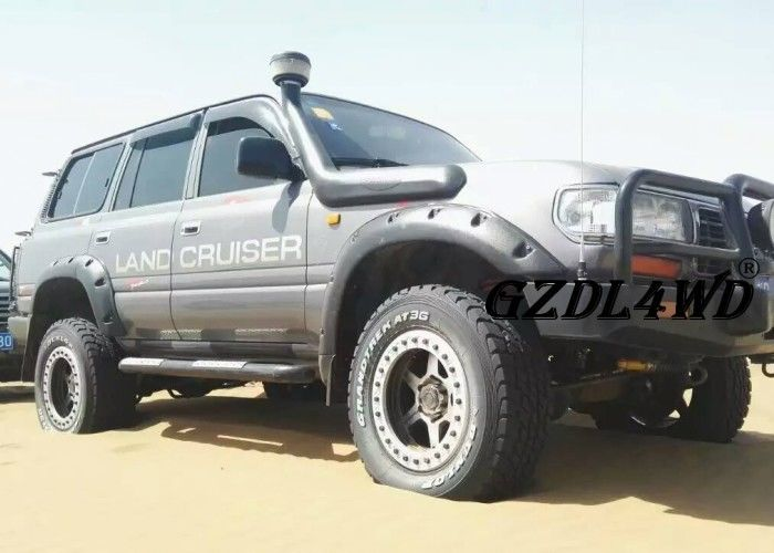 China 4x4 Land Cruiser Off road Fender Flares LC80 FJ80 4500 Pocket Style 1997 - 2007 factory