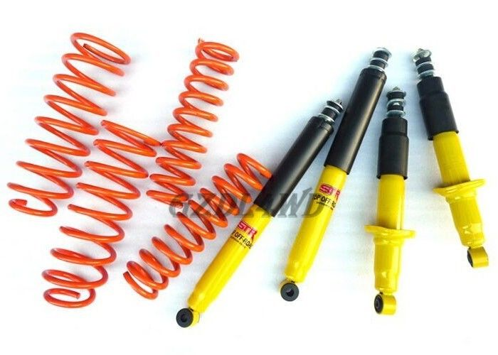 China Toyota Prado FJ90 Heavy Duty Coil Springs , 2 Inch Hight Automotive Coil Spring Car factory
