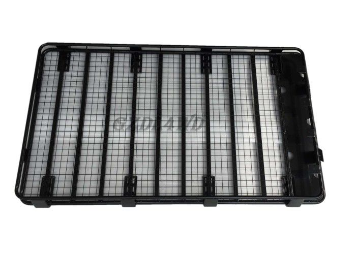 China Nissan Patrol Steel Universal Roof Rack Storage Systems Black 220*125*16CM factory