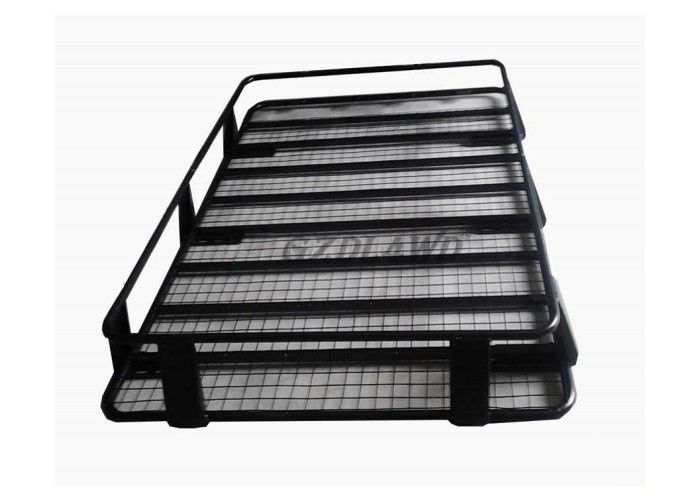 China 4X4 Universal Roof Rack Cargo Baskets Steel Material For Toyota Land Cruiser 80 Series factory