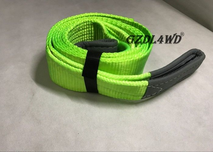 China OEM Logo 4x4 Off Road Accessories Recovery Kits Green With AA Grade Polyester Yarn factory