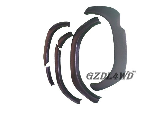 Big Type Matte Black Off Road Fender Flares ABS Plastic For Hilux Accessories supplier