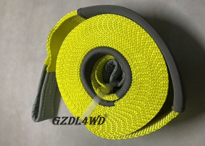 China Towing Snatch Straps 4x4 Off Road Accessories Recovery Kits Chemical Resistant factory