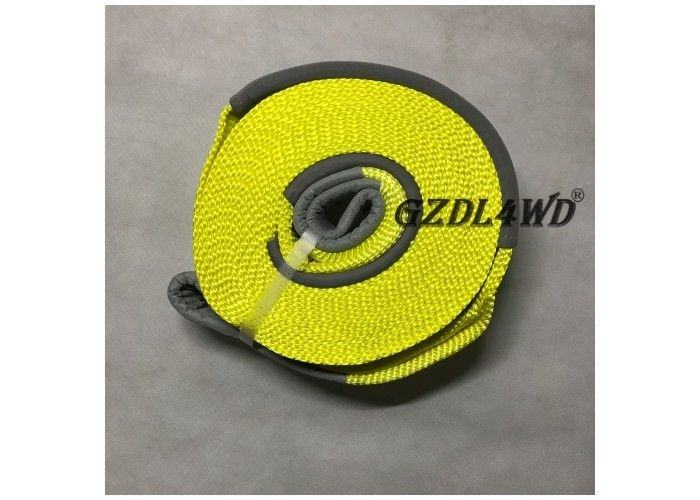 China OEM Emergency 4x4 Off Road Accessories Snatch Strap 9 Meters Towing Belt factory