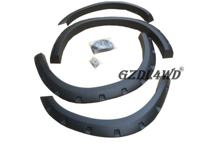 China Isuzu Model Pocket Style Fender Flares Dodge Ram 1500 Drilling Install factory