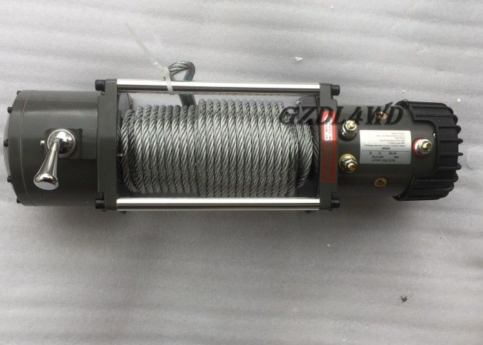 China 5 Ton Off Road Heavy Duty Electric Winch Steel Wire 10000lbs Single Line 12V 24V factory