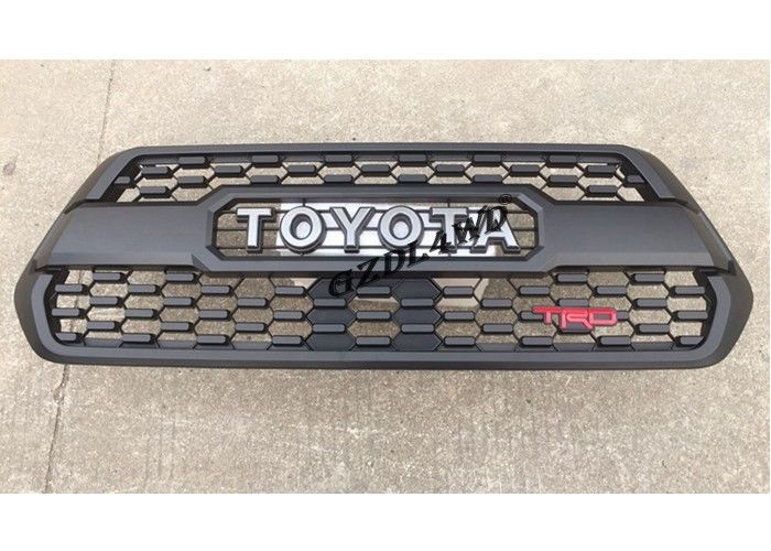 TRD Style Matte Black Front Grill Mesh , 2016 Toyota Tacoma Aftermarket Accessories supplier