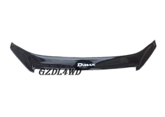 China Single Black Car Window Sun Visor , Dmax Bonnet Protector For Isuzu Dmax 2012 Onwards factory