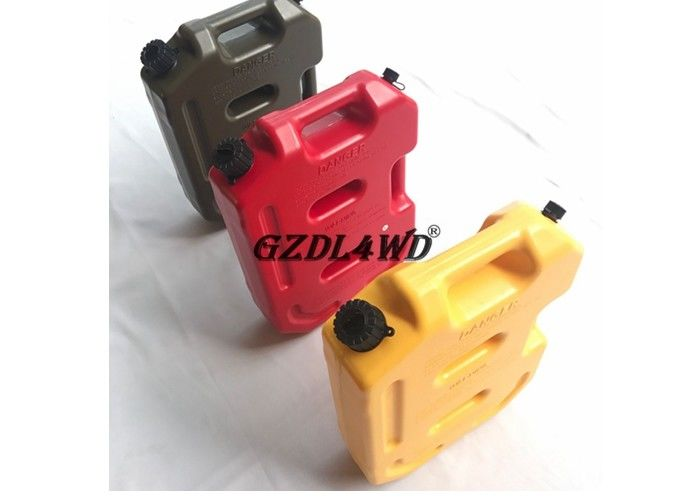 Truck 4x4 Off Road Accessories / 10L ABS Plastic Jerry Gas Can