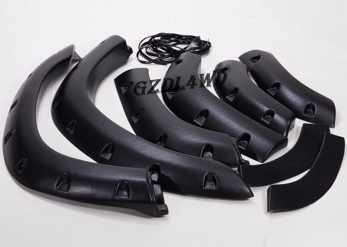 China Textured 4x4 Body Parts / Off Road Fender Flares For Toyota Land Cruiser 80 Series factory