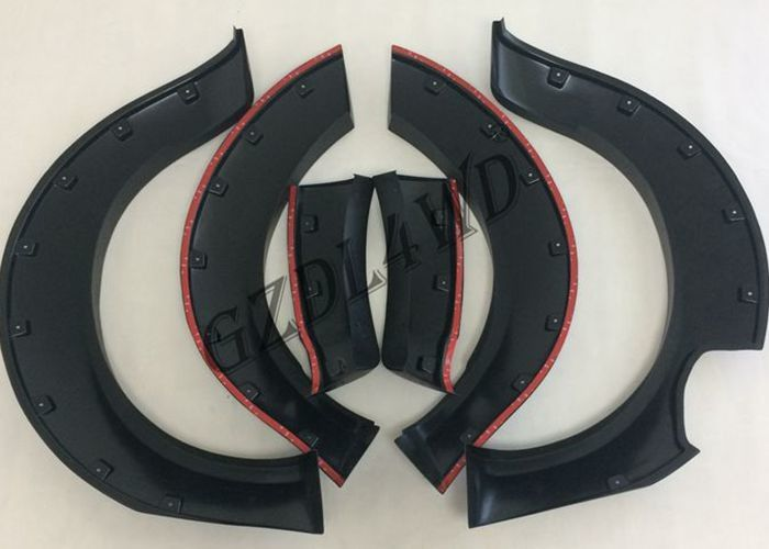 China Durable Wheel Arch Flares With Logo Printed , ABS Navara Np300 Fender Flares factory