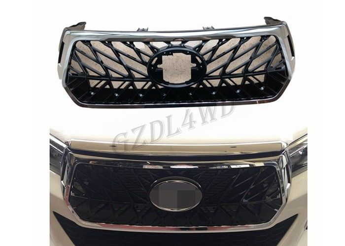 China 4x4 Plastic Front Grill Mesh For Toyota Hilux Revo Rocco 2018 factory