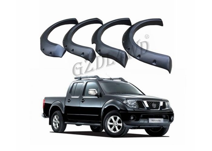 China Wide Extended Pocket Wheel Arch Fender Flares For Nissan Navara D40 Truck Accessories factory