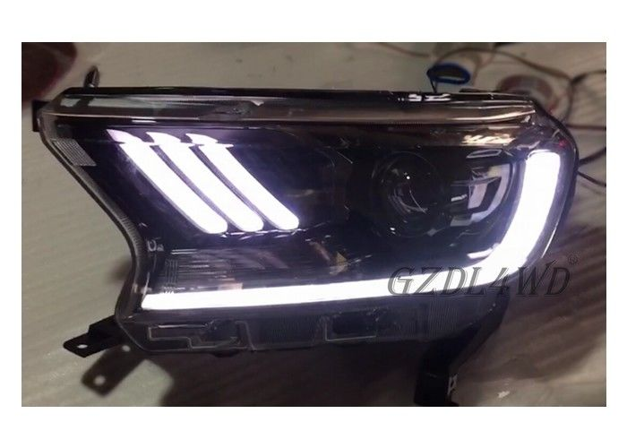 China Waterproof LED Car Headlights For Ford Ranger Wildtrak Accessories factory