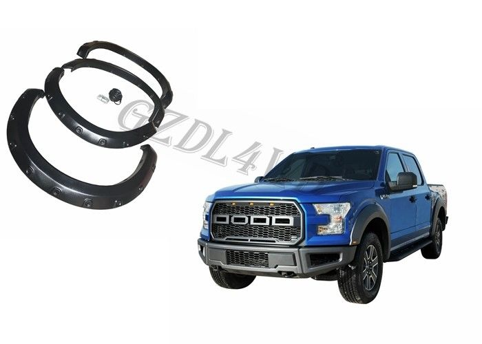 ABS Exterior Kit 4x4 Wheel Fender Flares For Ford 2009-2014 F-150 Pickup Ute Raptor