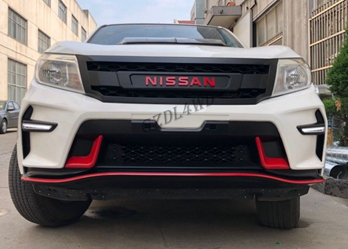 Modified Front Bumper 4x4 Body Kits For Nissan Navara NP300 D23 2015 2019