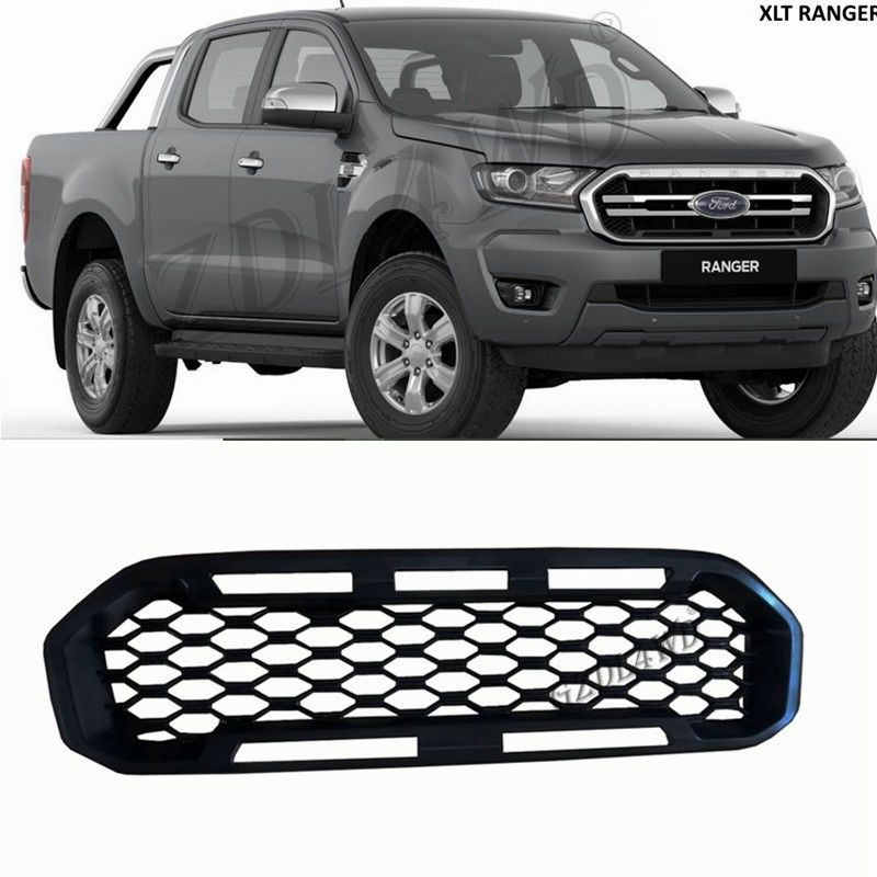 China Car Front Grille Without Letter Logo For Ford Ranger 2018 2019 Px3 Xl Raptor factory