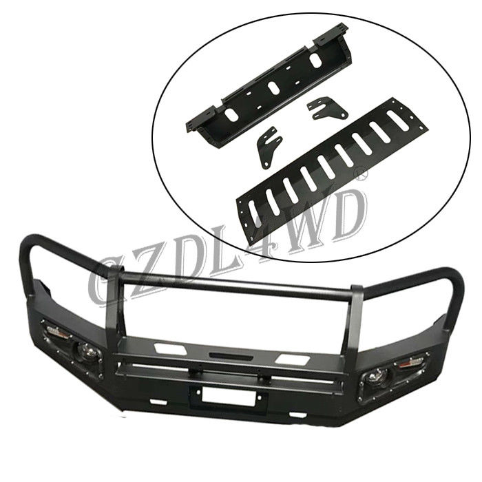 Skid Plate Front Bumper Guard For Toyota Prado Fj150 / Metal Car Bumper