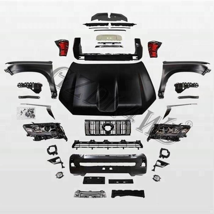 Automotive Whole Body Kit Toyota Land Cruiser Prado 2010-2017 Upgrade To 2018+ Repair