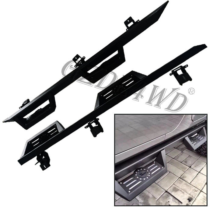 Offload 4x4 Body Kits Steel Running Boards Side Step For Jeep Wrangler Jl