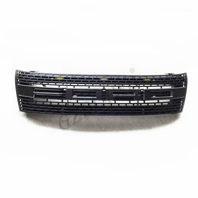 China ABS Raptor Bumper Grille With LED For Ford Ranger T6 2012 2015 Ranger Body Kits factory