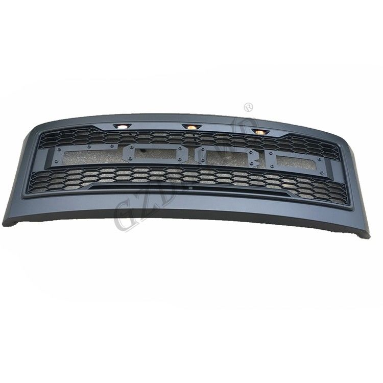 China Easy To Install Front Grill Mesh For Ford Super Duty F250 2008 2010 With Lights / F350 Raptor Grill factory