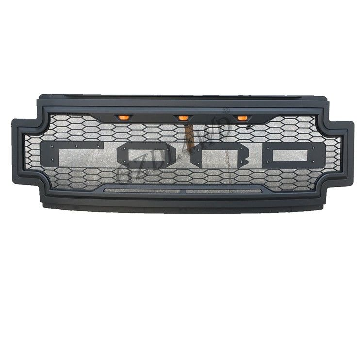China 2019 Ford F250 Super Duty Raptor Grill Mesh With Amber Lights  / Truck Accessories factory