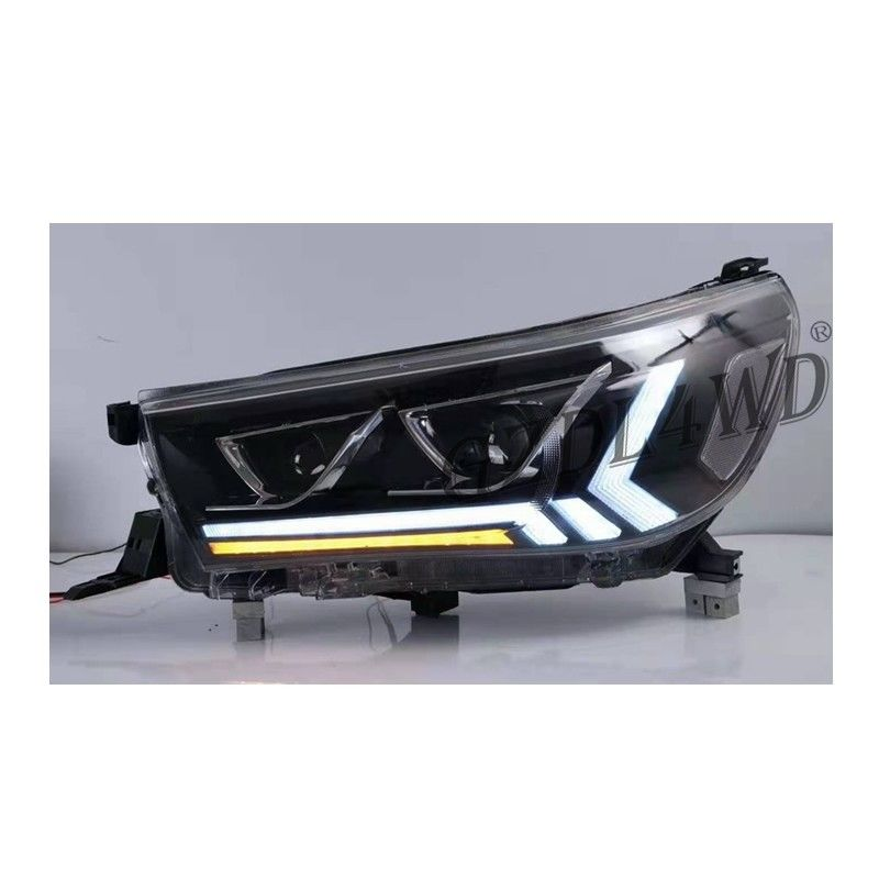12V LED Modified Headlight For Toyota Hilux Revo Rocco  2015+ / 4x4 Auto Accessories
