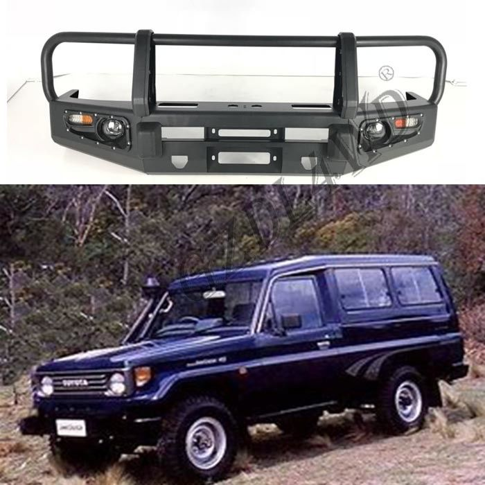 Standard Front Bumper Guard For Toyota Land Cruiser FJ78 LC78 78 Series HZJ78