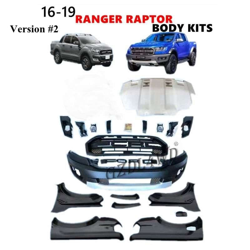 Ford Ranger T7 Wildtrak Raptor Body Kits / Facelift Bumper Kits