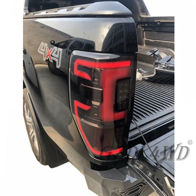 China Red 4x4 LED Car Tail Lights For Ford Ranger 2012-2019 / Auto Rear Light factory