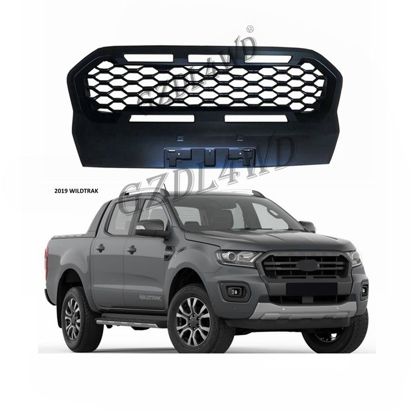 Automotive Wheel Arch Flares 4x4 Offroad Pickup Aftermarket ABS Front Grilles For Ford T8 Wildtrack