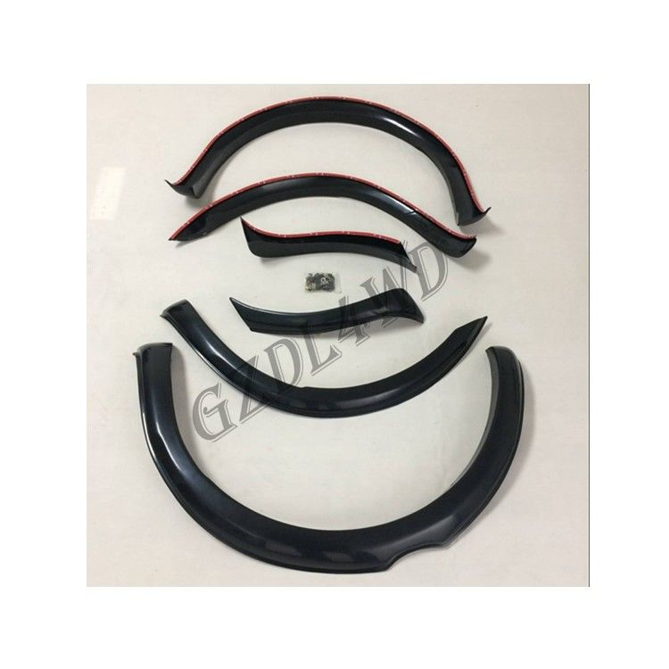 Standard Off Road Fender Flares ABS Material For Ford T7 2015-2017