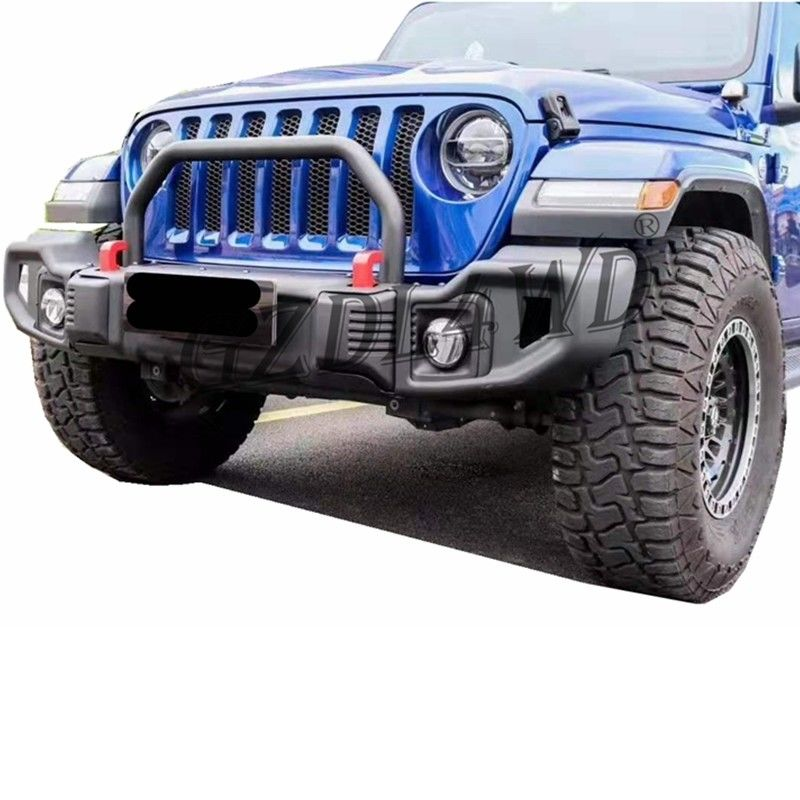 Steel Material Front And Rear Bumper Guard  For Jeep Wrangler JL 2018+