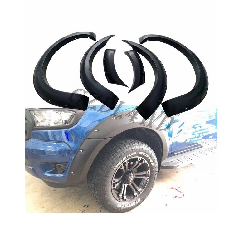 Injection Molding 4x4 Wheel Arch Flares For Ford Ranger T7 Wildtrak 2015 2018