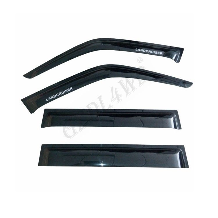China Wind Deflector For Toyota Landcruiser 80 Series Window Visors factory