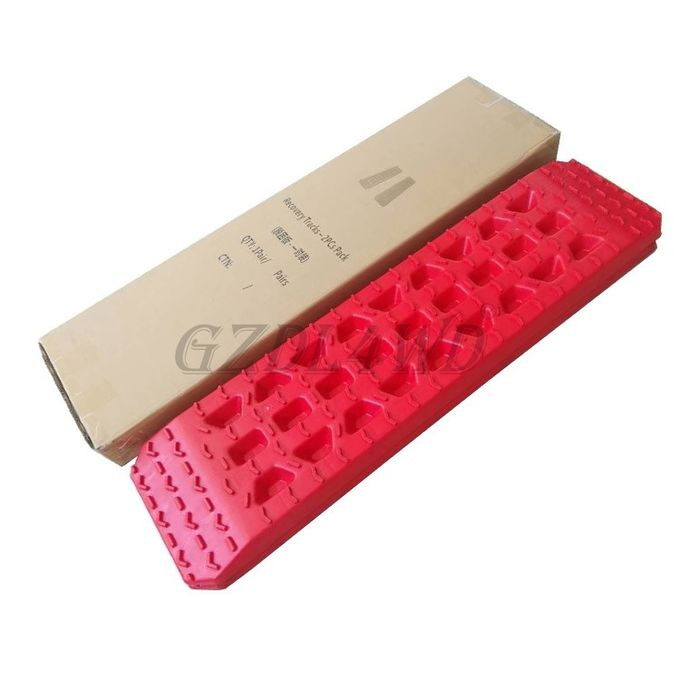 5T Offload Pickup Accessories Red Reinforced Nylon Pa66 Recovery Board Sand Track Sand Ladder